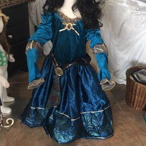 Authentic Disney parks Merida brave costume L NWOT
